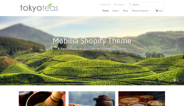 mobilia shopify theme